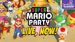 Super Mario Party...More Maps, Modes and IRL Fights - Razer DBFZ Giveaway -> http://bit.ly/RazerMAX  (Sun 10-7)