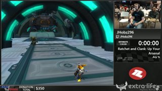 Ratchet and Clank: Up Your Arsenal by JHobz296 (Any %) - Race to the Finish