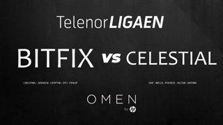 Telenorligaen Høst 2018: CS:GO Runde 4! Bitfix vs Celestial!