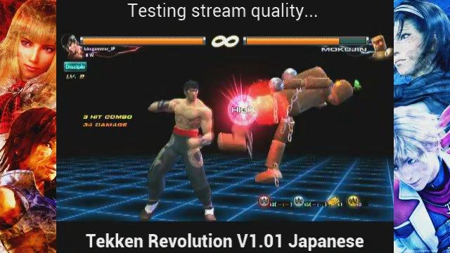 Tekken Revolution: Mokujin (Stage 7 Arcade Mode)