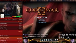 God Of War II Any% NG+ PB Ps2 1:10:38