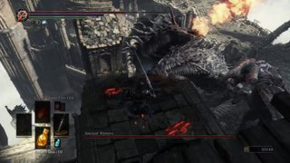 Dark Souls 3 - Addy vs. Ancient Wyvern (NG+2)