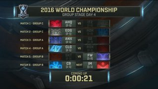 Worlds Group Stage: Player Experience Stream