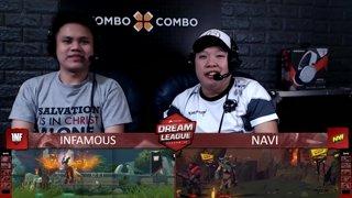 Highlight: [FIL] Navi vs Infamous (BO3) | Game 1 | Dream League Season 10 Minor Group Stage