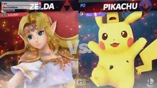 BNT 13 - Lalo (Pikachu) vs ZeroTwoNone (Zelda) Losers Semi - Smash Ultimate