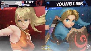 BNT 13 - Chazz (Young Link) vs King Chris (Zero Suit Samus) Grand Final - Smash Ultimate