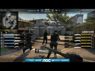 AOC CGPL Winter Wk7 - Grayhound VS Funky Monkeys Game 1