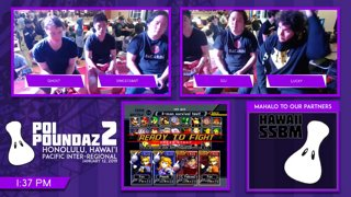 Smash Melee Tournament - Ghost & Vincessant Vs. S2J & Lucky Poi Poundaz 2 SSBM Doubles Grand Finals