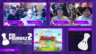 Smash Melee Tournament - Zippys (Falco) Vs. DarkGenex (Fox) Poi Poundaz 2 SSBM Singles Pools