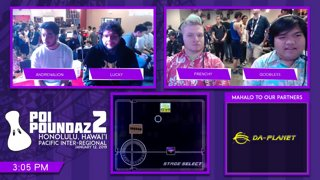 Smash Melee Tournament - Andrenalion (Falco) Vs. DIG | Lucky (Fox) Poi Poundaz 2 SSBM Singles Pools