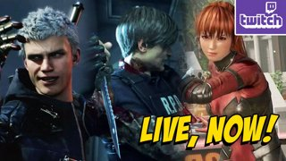 YoVideogames - RE2Remake and DMCV Demo & DOA6 Beta (1-13) !giveaway ASUS LAPTOP GIVEAWAY - bit.ly/MAXASUS2019