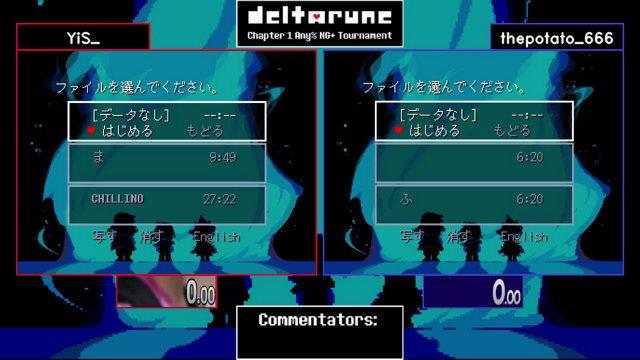 YiS_ vs thepotato_666  Deltarune NG+ Tournament 2018 Game 2