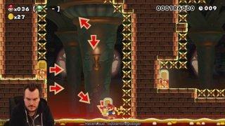 Mario Maker garb for a bit - Mega Man X runback after
