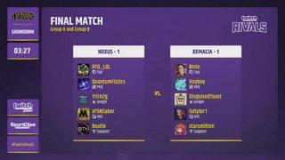 Twitch Rivals: League of Legends Showdown @ 9:00 AM PT