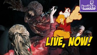 RE2 DAY 2 - PC HARDCORE - Finishing Leon...Claire Next !giveaway ASUS LAPTOP - bit.ly/MAXASUS2019