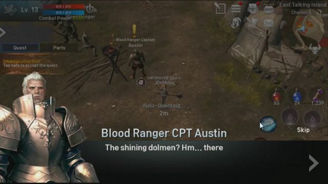 Lineage 2 Revolution - Rune Imprinting to Kill Votis [Ep 10-1] The Second Barrier