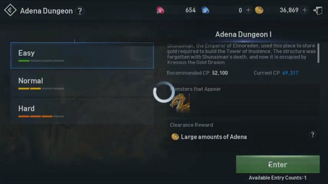 Lineage 2 Revolution - How much Adena will I get in defeating Kresous