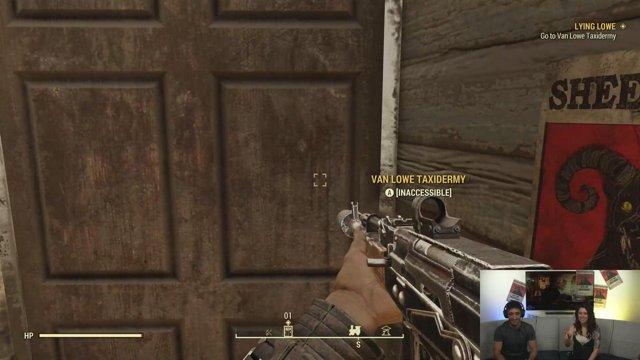 Bethesda Fallout 76 Laying Lowe Twitch