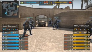 CS:GO - OpTic vs. HellRaisers [Mirage] Map 2 - Group A - ESL Pro League Season 9 Europe