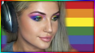 Pride Month Inspired Makeup Look - Djarii MUA
