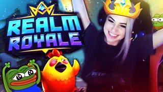 NERVE WRACKING REALM ROYALE WIN LIVE @ DHS 2018 | LIVE STREAM HIGHLIGHTS | Djarii