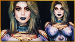Calia Menethil World of Warcraft Bodypaint | Djarii MUA