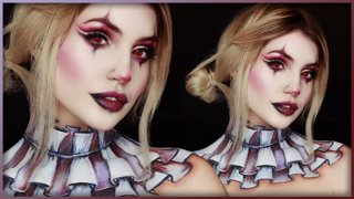 Cute Clown Body Paint | Djarii MUA