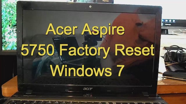 acer aspire recovery windows
