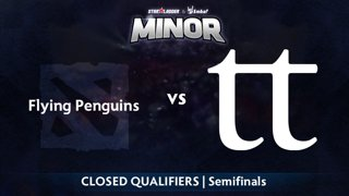 Flying Penguins vs Team Team Game 1 - StarLadder ImbaTV NA Qualifier: Semifinals