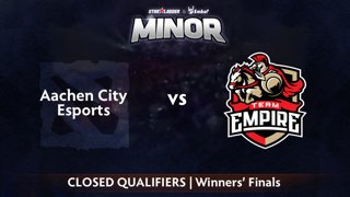 Aachen vs Empire Game 1 - StarLadder ImbaTV CIS Qualifier: Winners' Finals