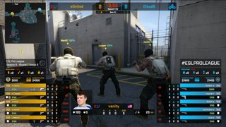 CS:GO - eUnited vs. Cloud9 [Nuke] Map 2 - Group B - ESL Pro League Season 9 Americas