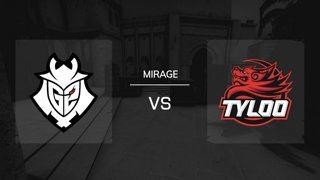 Mirage / Map 1 | G2 Esports vs. TyLoo - IEM Katowice 2019 New Challengers Stage - Runde 5
