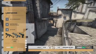 (EN) LDLC vs DreamEaters GG.BET | map 2 | Loot.bet/CS Season 3 | by @oversiard & @VortexKieran
