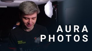 Aura photos w/ Virtus Pro & PSG LGD - CORSAIR DreamLeague S11 - The Stockholm Major
