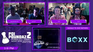 Smash Melee Tournament - Ghost (Fox) Vs. Andrenalion (Falco) Poi Poundaz 2 SSBM Singles Losers Top 8