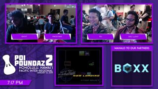Smash Melee Tournament - DIG | Lucky (Fox) Vs. Vincessant (Peach) Poi Poundaz 2 SSBM Singles Losers Finals