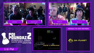 Smash Melee Tournament - Dirtboy (Peach) Vs. Vincessant (Peach) Poi Poundaz 2 SSBM Singles Losers Top 16