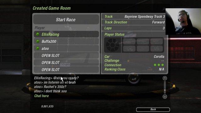 30 Minutes of NFSU2 Online Multiplayer