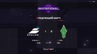 (RU) Vulkan.Bet Invitational | Epsilon vs HAVU | map 2 | by @Zloba13 & @Mr_Zais