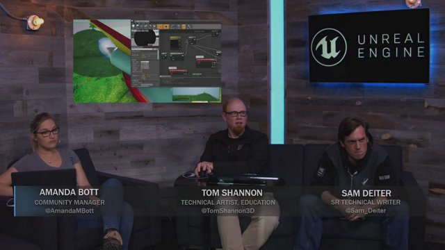 Unreal Engine Livestream - Post Processing in UE4: Cel-Shading