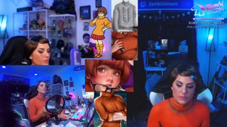 Highlight: [BODYPAINT] Velma: JINKIES, GUYS! I SOLVED THE MYSTERY OF THE SALTY EBOYS! It's Bobs. | !subtember | !camera