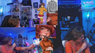 [BODYPAINT] Velma: JINKIES, GUYS! I SOLVED THE MYSTERY OF THE SALTY EBOYS! It's Bobs. | !subtember | !camera