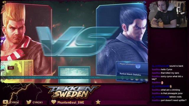 Tekken 7 - Day1 Ranked with Kazuya