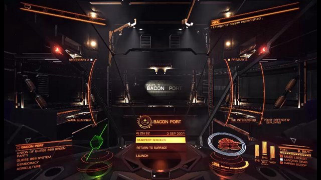 Elite Dangerous Bounty Hunting at RES with EDFX