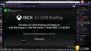 Trihex Shitpost Bingo - Microsoft E3 2018