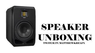 Matt Heafy (Trivium) - Adam Audio S2V Speakers I Unboxing