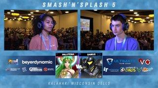 SNS5 SSBU - Nenz (Samus) Vs. Salad (Palutena) Smash Ultimate Tournament Pools