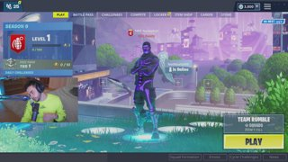 Fortnite with Courage, Valkyrae and NoahJ456