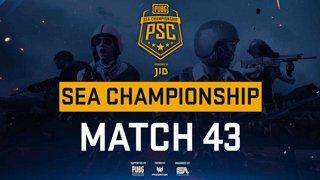 [PSC] [TH] JIB PUBG SEA Championship Phase 3  Game 43