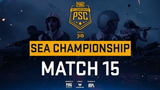 [PSC] [TH] JIB PUBG SEA Championship Phase 3  Game 15